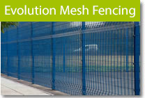 Evolution Mesh Fencing