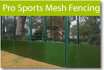 Pro Sports Mesh Fencing