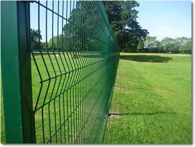 Metafence Pro V Mesh System Fencing