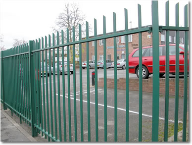 Metafence Rx Amp Dx Security Railing Systems Fencing