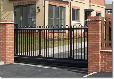 Commercial Gates & Automation | Automatic & Manual Sliding Gates