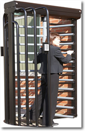 Commercial Gates & Automation | Full Height Pedestrian Turnstiles